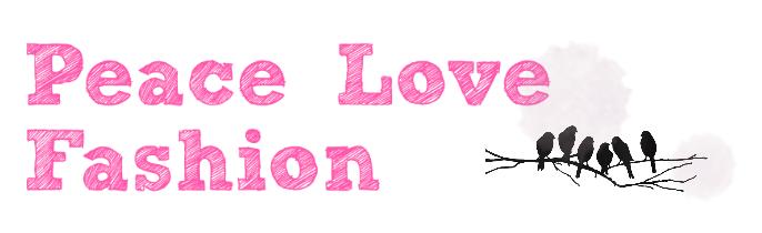 Peace Love fashion