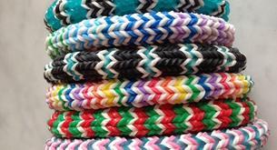 las pulseras Loom podrían ser peligrosas para la salud