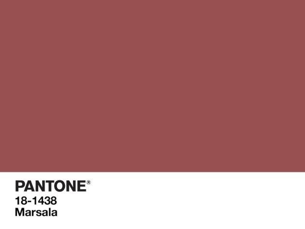 El color del 2015 es el Marsala