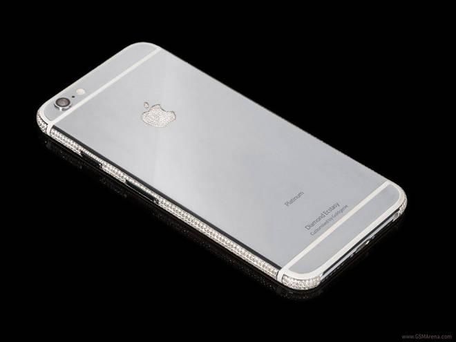 iPhone con diamantes