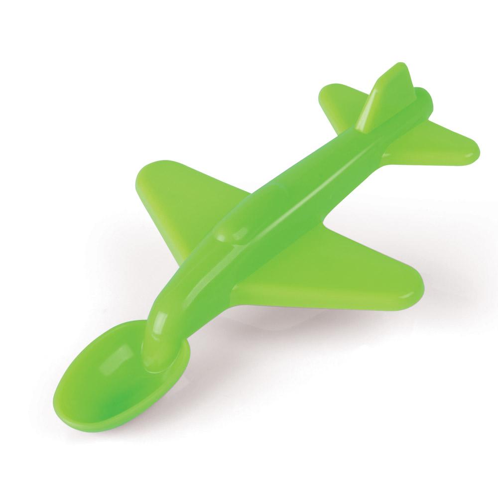 Cuchara con forma de avión
